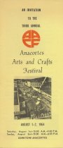 Image of Arts and Crafts Festival Brochure 1964