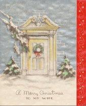 Image of Christmas Card, 1940
