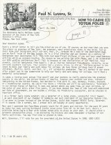 Image of letter to Governor Cuomo of New York