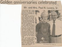 Image of Paul and Mary Luvera 50th Anniversary