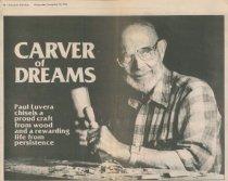 Image of Luvera carves a dream