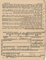 Image of mileage ration identification folder