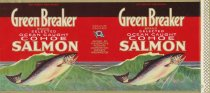 Image of Fishermen's Pack Green Breaker label