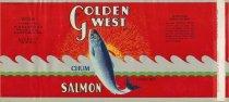 Image of Fishermen's Pack Golden West label