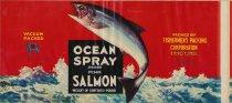 Image of Fishermen's Pack Ocean Spray label