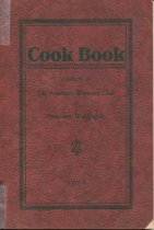 Image of 1928 Anacortes Woman's Club cookbook
