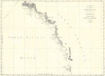 Image of chart of British Columbia coastline