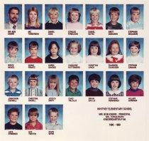 Image of Whitney School  1989-1990  Kindergarten P.M.