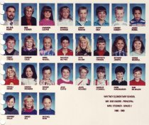Image of 2009.016.416 - Whitney School  1989-1990  Grade 2