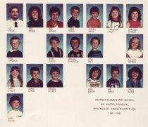 Image of 2009.016.418 - Whitney School  1990-1991  Kindergarten A.M.