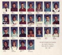 Image of Whitney School  1990-1991  Grade 1