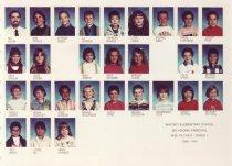 Image of 2009.016.427 - Whitney School  1990-1991  Grade 1