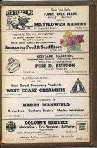 Image of Maryland Cafe menu cover - inside