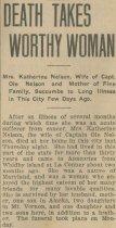 Image of Katherine Nelson obituary