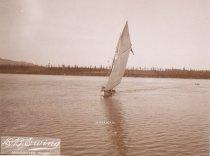 Image of D.IX.005.A,B,C - AMERICAN, sailboat
