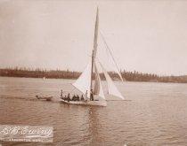 Image of D.IX.017 - sailboat - recreation