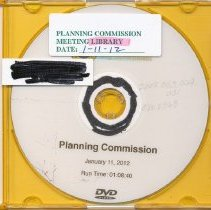 Image of EM 0363-0373 - Planning Commission meetings 2012