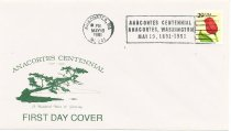 Image of Centennial first day cover envelope 1891-1991