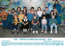 Image of 2009.016.453 - Whitney School  2002-2003  Kindergarten P.M.