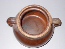 Image of ceramic pot with handles