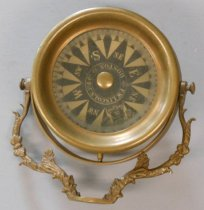 Image of Captain Haugen's gyrocompass
