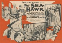 Image of The SEA HAWK advertisement - front