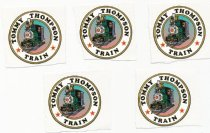 """Image of stickers """"Tommy Thompson Train"""""""