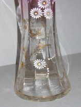 """Image of Crystal Vases from Jonas """"Elmer"""" and Nellie Amsberry, c.1902"""