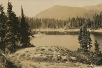 Image of Chain Lake, near Mount Baker