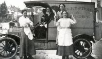 Image of Skagit Steam Laundry truck