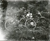 Image of D.XV.101 - Two unidentified Bikers