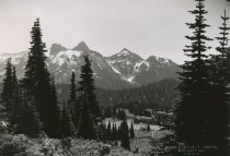 Image of Tatoosh Range from Paradise Valley