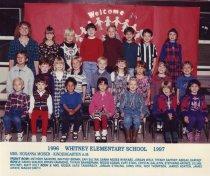 Image of 2009.016.494 - Whitney School  1996-1997  Kindergarten A.M.