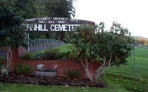 Image of 2015.059.023.002-.004 - Fernhill Cemetery entrance