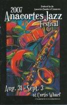 Image of 2007 Anacortes Jazz Festival program