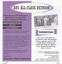 Image of AHS All-Class Reunion 2007