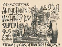 Image of Antique Machinery Show poster, 2002