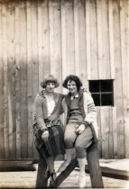 Image of Wanda Lull and Cora Rowland