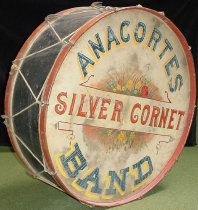 Image of Silver Cornet Band drum