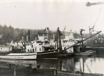 Image of SWINOMISH tied to other boats