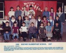 Image of 2009.016.497 - Whitney School  1996-1997  Grade 1