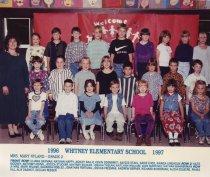 Image of 2009.016.501 - Whitney School  1996-1997  Grade 2