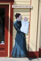 Image of 2015.059.111.001-.002 - Mural of Flora Reilly and son, 1901