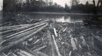 Image of W.T. PRESTON removing log jam