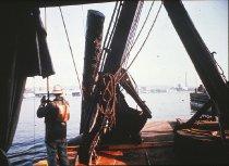 Image of D.XXV.A.007 - W.T. PRESTON pulling up a log