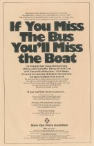 Image of Ferry rally handbill