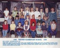 Image of 2009.016.517 - Whitney School  1998-1999  Kindergarten A.M.