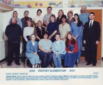 Image of 2009.016.546 - Whitney School  2000-2001  STAFF