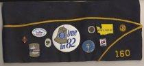 Image of American Legion overseas cap, back