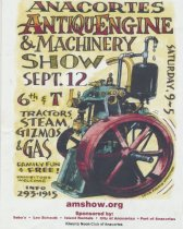 Image of Machinery Show poster, 2001